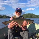 Peter Cady of Toronto caught this 23-inch brookie while on a fly-in to Algoma Region with his good buddy Vlad.