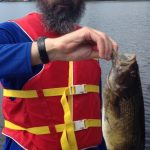 Vladimir Vais of Ottawa caught this smallmouth bass on Canada Day on Weslemkoon Lake