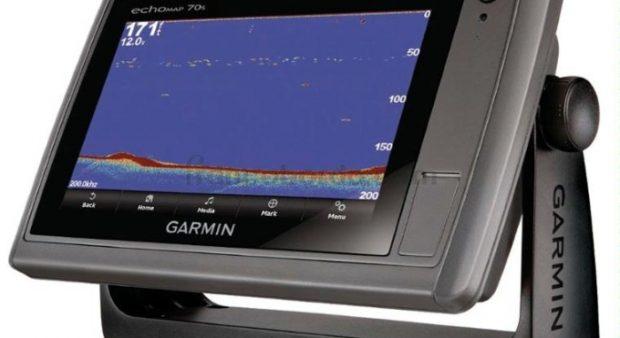 A Garmin sonar product