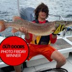Photo Friday winner, Mark Gibeault of Manitowaning, was fishing Manitoulin Island in the North Channel with his 12-year-old son, Dane. Birthday Boy Dane landed this 18-lb pike using the rod he was given on his sixth birthday, and a Storm-brand gold lure he was given on his 12th.