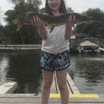 Trevor MacDonald of Guelph went on a fishing trip with his wife and daughter, Paisley, 10, to Cook's Bay on Lake Simcoe. Paisley caught this 30-inch northern pike.