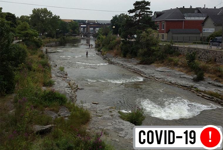 ganaraska river covid 19