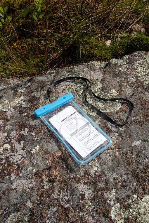 waterproof licence holder