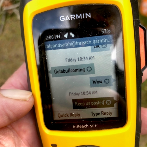 Garmin satellite unit