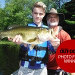 Photo Friday winner Jim Rice of Barrie was fishing near Port Severn with his nephew, Ryan, and his brother, Rob, when Ryan harvested his best largemouth yet (20 inches) using a black Berkley Choppo. Though they didn't get out until mid-July this year owing to COVID-19, it was a great first trip of 2020.