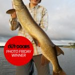 Photo Friday winner Mark Cannons of Stirling was excited when his son, Nate, harvested his first ever muskie (43 inches) on Stoco Lake using a #8 Muskie Mayhem Double Showgirl. Nate was fishing with his uncle at the time.