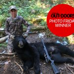 Photo Friday winner Ryan Van Dyke of Chatham was hunting with his grandfather on Aug. 15 in Temagami when he harvested this male black bear using a Knight 50-calibre muzzleloader from 35 yards.