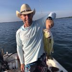 Bill Harvey of Severn caught this great bass on Lake Couchiching.