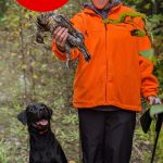 Photo Friday winner Blair Poredos of Oro-Medonte Township led his sister Bailey to her first ruffed grouse, flushed by his two-year-old dog, Sam. Blair was a proud brother and dog owner all at once!