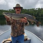 Chris Yank of Ottawa caught this beautiful pike in northern Ontario with his father-in-Law.