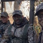 Cory Elson of Shelburne spent a morning with buddies Ray Gosbee and Dan Gubert in a duck blind in WMU 82A.