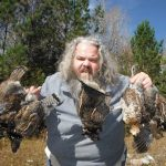 Jim Rice of Barrie had a great day grouse hunting solo north of NorthBay.