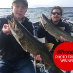 Photo Friday winner, Larry Hope of Reaboro. Larry's son, Connor, caught this beautiful lake trout while fishing with his dad and guide extraordinaire, JP Bushey, on Georgian Bay.