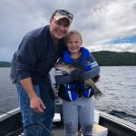 Nick Vorlicek of Wawa was fishing with family when his daughter, Brooke, caught this 24-inch walleye.