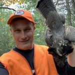 Chris Sierzputowski of Sault Ste. Marie felled his first grouse in many years in Jocelyn Township, St. Joseph Island, after remarking to his buddy he hadn't successfully harvested one in some time.