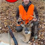 Congratulations to our Photo Friday winner, Jayme Wallace of Tillsonburg. Jayme harvested his first buck as it chased a doe during the November rut in WMU 90B.