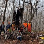 Joe Hagerman of Prince Edward had a successful moose hunt in theArmstrong Camp of WMU 60, having harvested one 52.5-inch bull and twocalves.