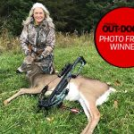 Photo Friday winner, Shawna Rimkey of Sault Ste. Marie started bowhunting three years ago and absolutely loves it. She patiently waited for this young buck to approach the 30-yard range before harvesting him on Thanksgiving Day.