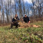 Tyler Anderson of Orangeville harvested his biggest buck to date from 37 yards with a broadside crossbow shot on Nov. 14.