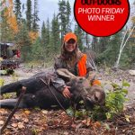 Photo Friday winner Paul Jenkins of Bancroft, is proud of his daughter, Laura, for harvesting her first moose. Laura is a wildlife artist and hunting guide.