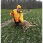 John Lehocki of Port Colborne was happy for a positive COVID outcome. His hunting partner Gord harvested his first buck ever, after not being able to migrate as a snowbird this winter.