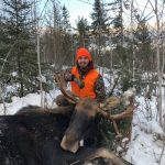 Matthew Hiltz of Listowel is blessed to have harvested his first moose on his first moose hunt, and couldn't have done it without his grandpa watching down. In loving memory of Brian Hiltz.