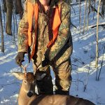 William Garside of Highgate harvested this buck on his 81st birthday in WMU 92A during the muzzleloader season.