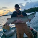 Alexander Marunde of Hamilton landed this beauty 53-inch, MNRF ID tag-equipped muskie on Georgian Bay. He was honoured to have caught a fish so many anglers spend a lifetime pursuing and to assist in the long-term research of the species by filing a report.