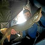 Joseph Allen of Peterborough snapped this pic of Thaxton Allen Wells, who battled and caught this pike while fishing the Bay of Quinte for the first time.