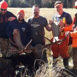 After the loss of one of his best camp members this year, Jeff Pagett of Ennismore submitted this 2019 photo of a friend's final moose hunt. Terry Richardson will be greatly missed. From left are, James Chapman, Adam and Jeff Pagett, Jim and Terry Richardson.