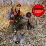 Photo Friday winner, Jordan McKibbon of Hamilton and his year-old German shorthaired pointer, Fergus, trained hard over the summer before buying a permit for the Norfolk County pheasant release program.