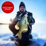 Photo Friday winner, Ian Porter of Shelburne, caught this nice Lake Ontario crappie using an HCL full metal perch jig.