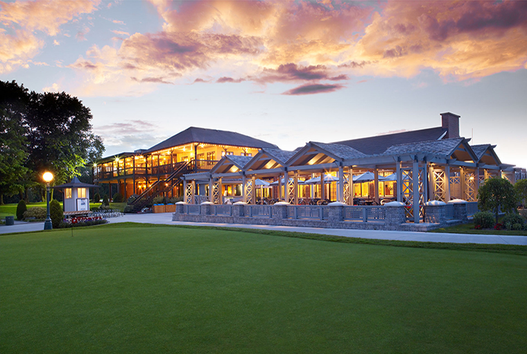 Royal Ashburn clubhouse