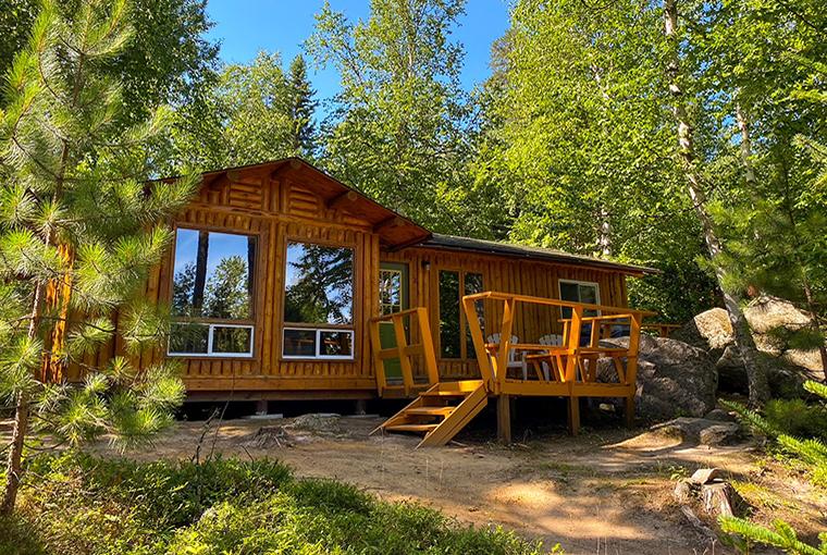 A cabin at Mar Mac Lodge