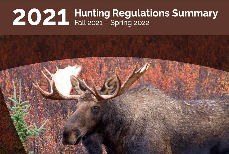 2021 Hunting Regulations Summary cover