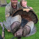 Neil Bannon of Hamilton took his daughter, Fergie, on a field trip during at-home learning this spring and harvested this 22.5-pound tom wielding 1.25-inch spurs and a 10.5-inch beard.