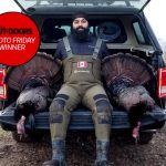 Photo Friday winner Satbir Bassi of Caledon and friend Sukh Singh (not pictured) both harvested a tom while hunting in early May.