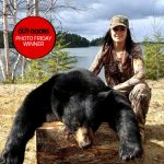 Photo Friday winner Al Armstrong of Eagle River submitted this photo of his granddaughter Tessa McMurrich, who harvested her first bear while hunting with her father Jeff near Minnitaki. Weighing in at 398 pounds, this boar was harvested just 16 kilometers north of their home.