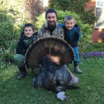 Chris O'Connor of Simcoe thrilled his sons Brycen and Finley when he woke them after returning from a morning hunt to show them this beautiful tom. They had been eager each morning to see a harvest and were not disappointed.