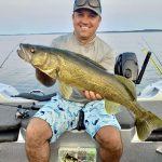 Danny Bacon of Spanish is taking advantage of fall patterns with reaction baits, and looking forward to fun times!