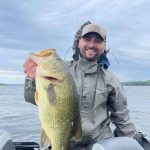 """Derek MacIntosh of Perth caught a 6.25-pound largemouth on a """"weapon of bass destruction:"""" a flipping jib with an X Zone Muscle Back Craw for a trailer, on the Ottawa River; his new personal best."""