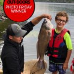 Photo Friday winner Gary Spergel of Sudbury says his seven-year-old grandson, Parker, is an avid angler. Parker caught and released this 25-inch sheepshead on the Lower French River in Ontario, with Papa (Gary) and Dad (Ben Egan, pictured) on net duty.