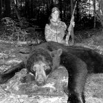Jamie Flower of Carrying Place had a successful 2021 bear hunt with her family, Darren and Liam.