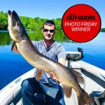 Photo Friday winner Logan Daly of Barrie landed this 45-inch northern pike on Lake Muskoka before releasing it.