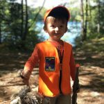 Patrick Adam of Pembroke and his son, Parker, had a great time together during the first bird hunt of 2021.