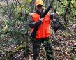 Caitlin Simon of Sudbury had great grouse success while hunting as a new mom.