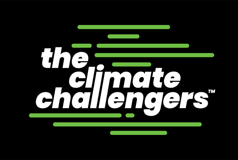 The Climate Challengers' logo